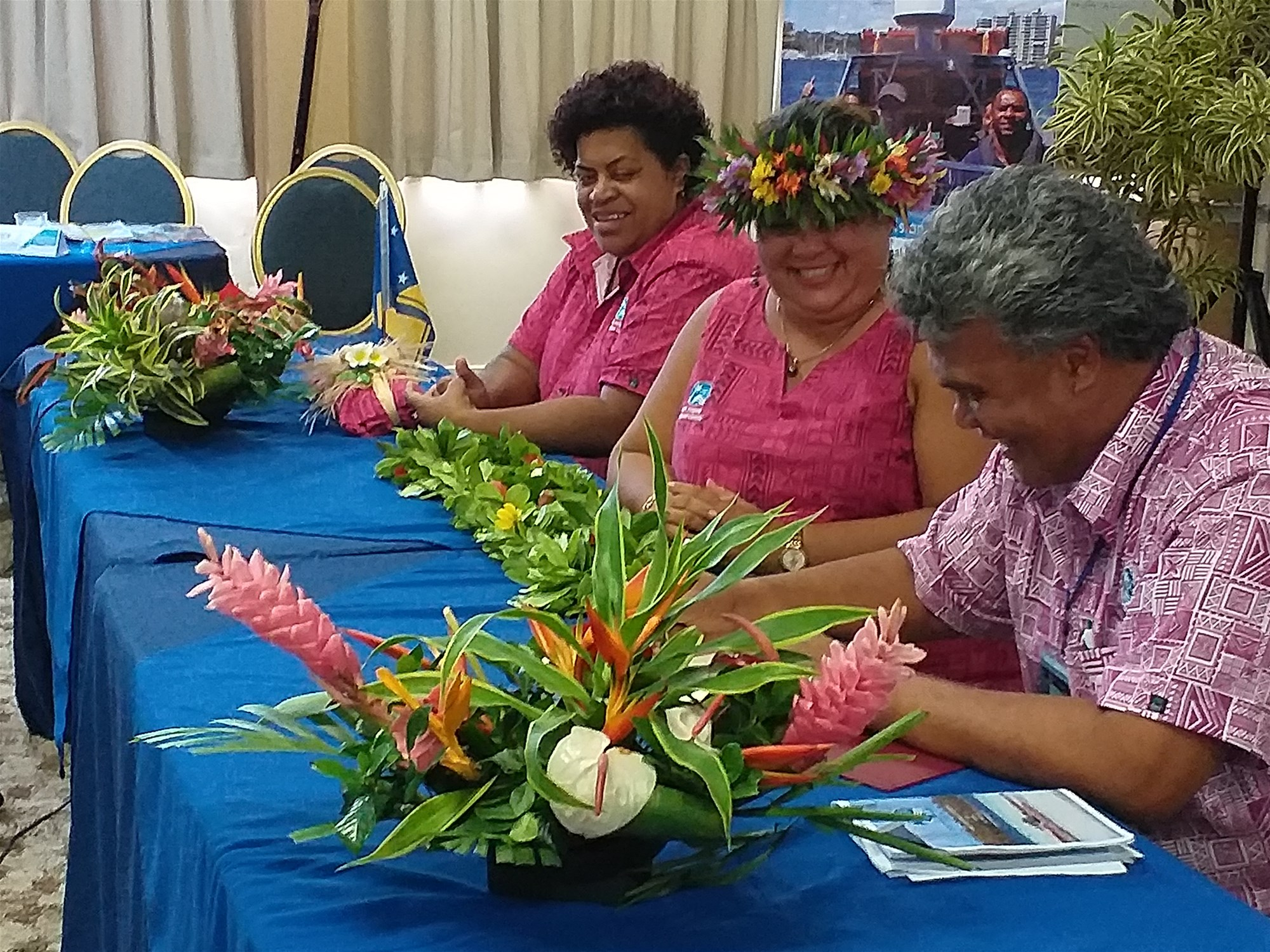 Mr. Simoa Mei on behalf of Tokelau signs the PIDC MoU and officially becomes a Member of the PIDC organisation