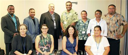 PIDC Information Sharing Working Group Meets in Honiara, November 2017